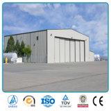 Estructura de acero prefabricados para la construcción de un supermercado