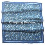 顧客用ロゴによって印刷される昇進の綿の大きいハンカチーフヘッドスカーフ