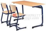 Doubles bureau d'étudiant et chaise (GH-56)