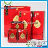 Verpacken- der Lebensmitteltee-Zinn-Kasten-Papier-Wein-Geschenk-Kasten