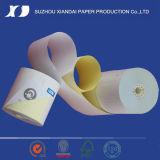 rodillo de dos espesores del papel sin carbono de la caja registradora