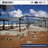 よいデザインおよび品質の家禽の家のための電流を通されたプレハブの鋼鉄構築