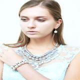 Collar de la pulsera nuevo elemento flor de la resina de moda colgante pendiente de la joyería