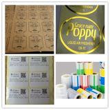Pegamento caliente del derretimiento del rollo de papel recubridor de etiqueta adhesiva