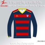 サッカーチームジャージーのためのHealongのスポーツ・ウェアの昇華サッカーのユニフォーム