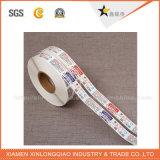 Escritura Autoadhesivas personalizados personalizados de papel adhesivo de la impresión de transferencia térmica.