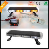 Black de alumínio Painted Chassis Mini Lightbar com Alley Lights