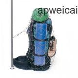 Edelstahl-Seil-Ineinander greifen - diebstahlsichere Metallbeutel