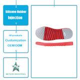 La gomma personalizzata dei pattini di sport dei pattini casuali calza il solo stampaggio ad iniezione di gomma
