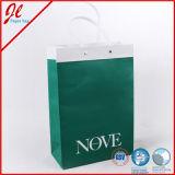 Carrier Shopping Sacs en papier avec poignée en plastique et impression
