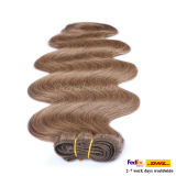 Cheveux humains 100% de Vierge non-traitée de bonne qualité