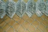 Galfan beschichtete Kettenlink-Ineinander greifen-Zaun mit mehr als Beschichtung des Zink-250G/M2