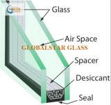 30mmの厚さ(8+14A+8mm)の二重ガラスガラス