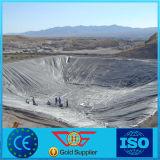 fodera dell'HDPE di 1.5mm/2mm per il progetto del materiale di riporto/costruzione del lago