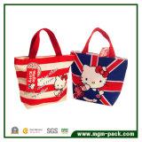 Promotion Sac shopping Hello Kitty toile
