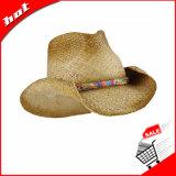Ковбой Red Hat, Raffia Red Hat, 2017 Fashion Red Hat соломы