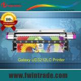 3,2 м/10 футов Galaxy Ud3212LC для использования внутри помещений экологически чистых растворителей и плоттер для виниловые наклейки печать баннеров
