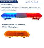 De Lichte Staaf van de LEIDENE Politiewagen van de Noodsituatie