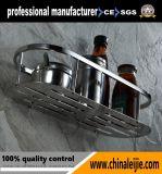 Panier de salle de bains d'acier inoxydable d'accessoires de salle de bains