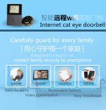 Visión nocturna video de la red alejada del teléfono del timbre de HD 720p WiFi con 2.8 la pantalla de la pulgada OLED HD y Bell de interior