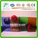 vidrio del vidrio modelado/arte del vidrio modelado/color de la flora de 3m m Ambor/vidrio decorativo