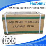 MSDS Crackmax Argamassa expansiva/fissuração Agent para extracção de granito