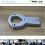 Часть CNC алюминиевого компонента высокого качества подвергая механической обработке