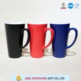 Taza cambiante de la sublimación de Latte de la taza de café del color sensible al calor grande