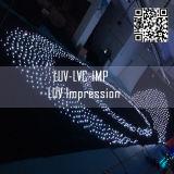 LED-curtain-scherm met volledige kleuren/RGB LED-videogordijn