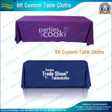 La conception de logo imprimé 6 pieds Trade Show Table Cloth