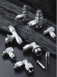 Haute qualité en acier inoxydable 316 Raccords pneumatiques enfichable