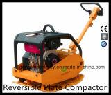 Compactador de placa reversível com roda Gyp-160