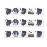 Escritura de la etiqueta impresa color Paper/PP/Pet revestido auta-adhesivo para la muestra de la impresora: Escritura de la etiqueta de la impresora