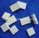 Fodera delle mattonelle di ceramica dell'allumina per la ceramica di rivestimento isolante della puleggia