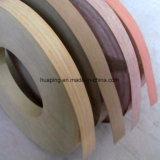 Bois de PVC de meubles et bordure foncée de faisceau solide