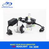 2017 últimos bulbos autos H4 H7 H11 9005 de la linterna 40W LED de Csp LED linterna de 9006 virutas