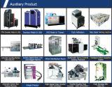 Máquina de linha de produção de guardanapo sanitário descartável de alta velocidade com Auto Bagger Jwc-Kbd-Sv