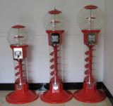 螺線形のGumballの自動販売機のおもちゃの自動販売機