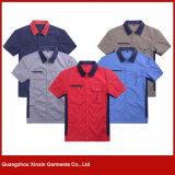 卸し売り最もよい品質男女兼用作業服装のユニフォーム(W89)