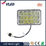 45W 1600lm Offroad LED Work Light IP67 Éclairage