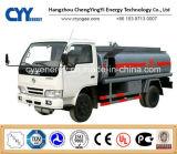 De GNL do Lox de Lin Lco2 do Lar do depósito de gasolina do carro reboque químico Semi