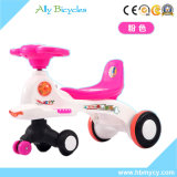 Bebé scooter con la barra de empuje/fábrica barata Kid's vehículo automóvil de giro Toys