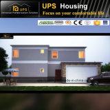Programmi durevoli della villa della struttura d'acciaio con di due piani