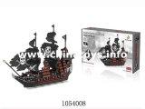 よいQuanlityのおもちゃの海賊船のブロック(1054007)
