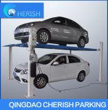 Hydraulischer Pfosten-Auto-Parken-Aufzug des Garage-Auto-Aufzug-vier