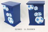 En71 со стандартом ASTM деревянные Football-Shaped деньги в салоне