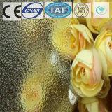 세륨 증명서를 가진 3-8mm 부유물 또는 부드럽게 한 장식무늬가 든 유리 제품