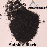 Пигмент краски Br 200% серы черный черный для тканья