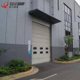 Полиуретановая пена промышленные стальные панели алюминиевый профиль вид в разрезе гараж сдвижной двери