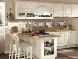 American Shaker Door Panel Cabinet de cuisine en bois massif